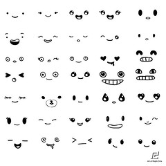 free eyes and mouth vector pack 01 art design face flickr