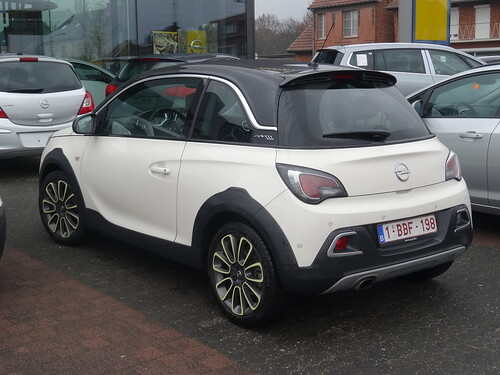 2015 opel adam rocks the more rugged version of the opel a flickr. Black Bedroom Furniture Sets. Home Design Ideas