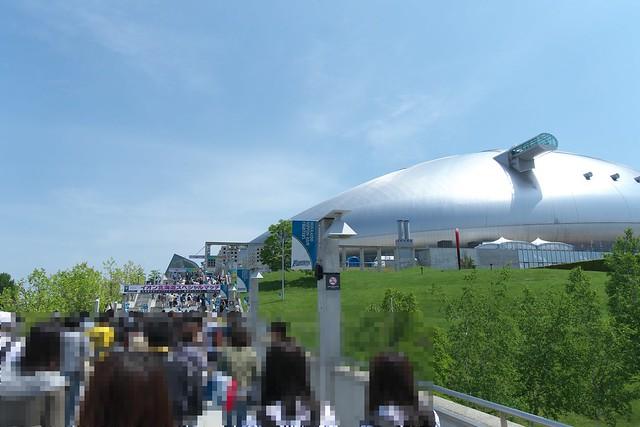 札幌ドームの専用ラウンジ_01