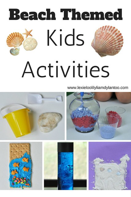 Camp Mom - Beach Theme Kids Activities