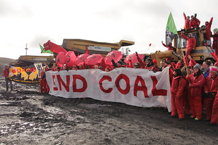 End Coal Now - action | by Reclaim the Power