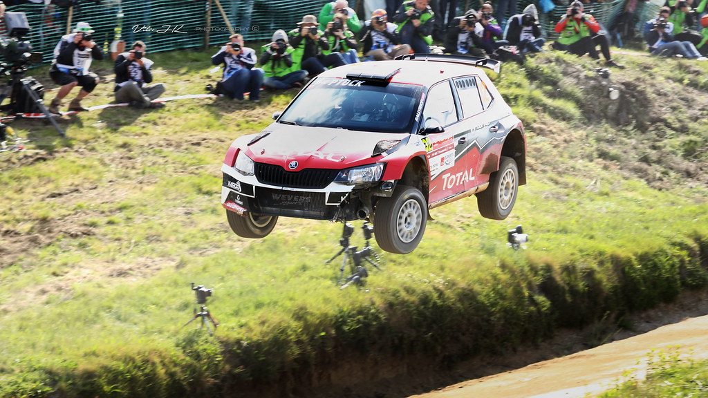 The Big Jump Hubert Ptaszek Skoda Fabia R WRC Rally Flickr - Wrc portugal 2016 map