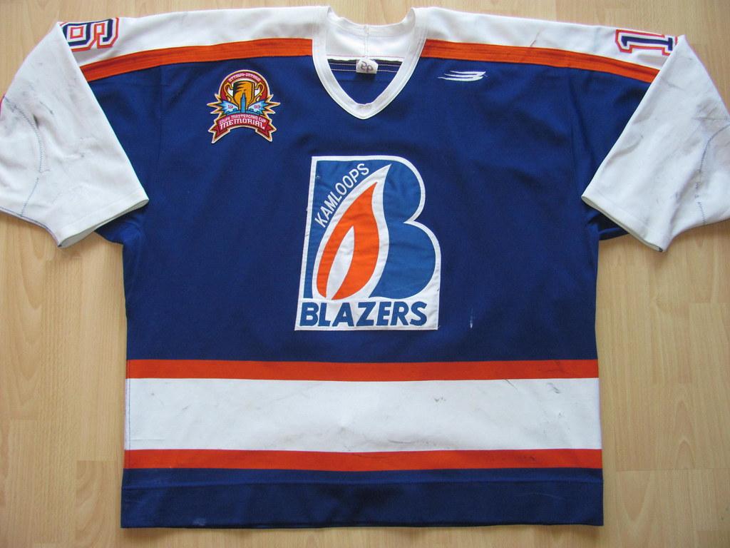 ... kirusgamewornjerseys Kamloops Blazers 1998 - 1999 Game Worn Jersey  6b214f681