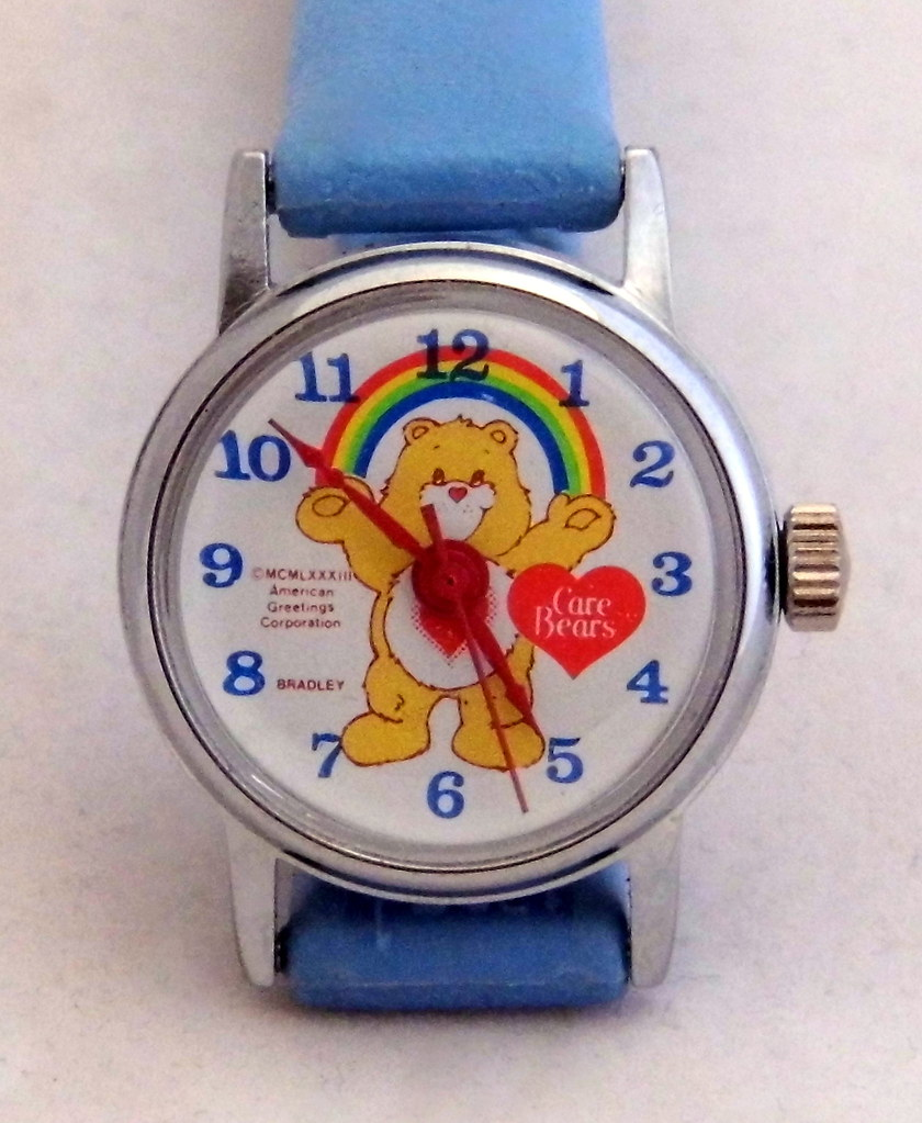 Vintage Care Bears Character Watch By Bradley Time Manual Flickr