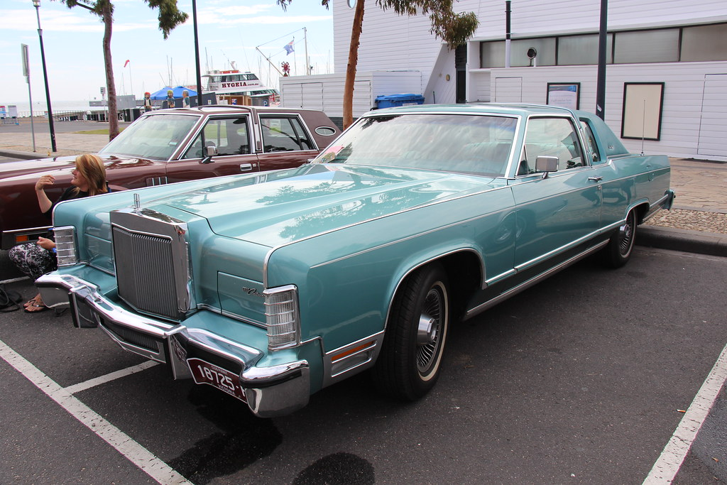 1979 Lincoln Continental 2 Door Coupe The Lincoln Motor Co Flickr