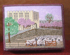 Norwich Castle and cattle market