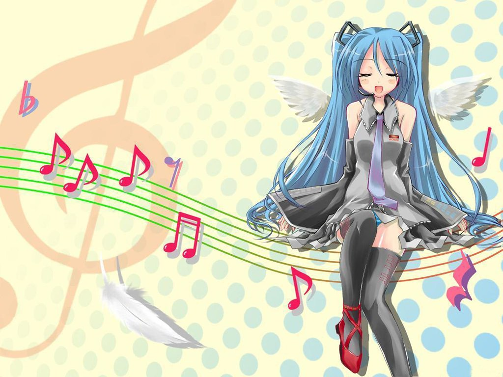 Anime Music Wallpaper Free HD Desktop Wallpape Flickr