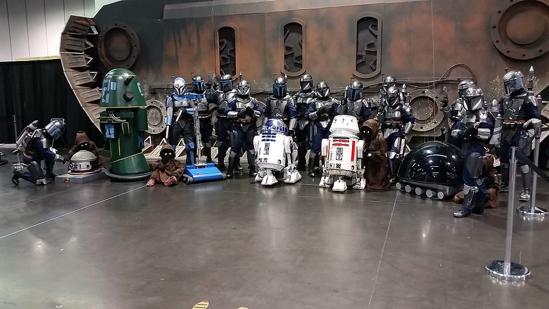 Deathwatch and the Jawas