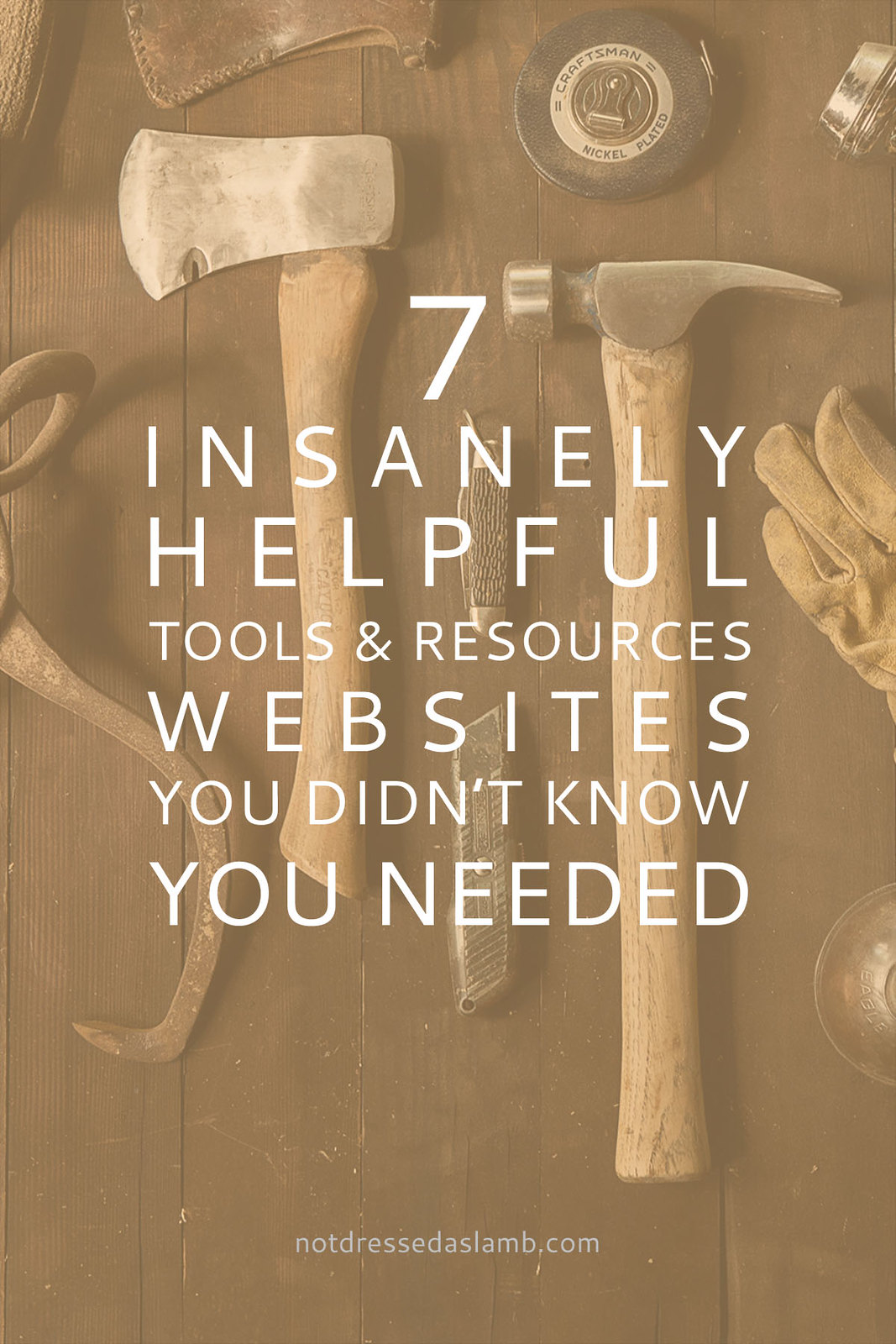 Blogging Tips: 7 Insanely Helpful Tools and Resources Websites You Didn't Know You Needed | Not Dressed As Lamb