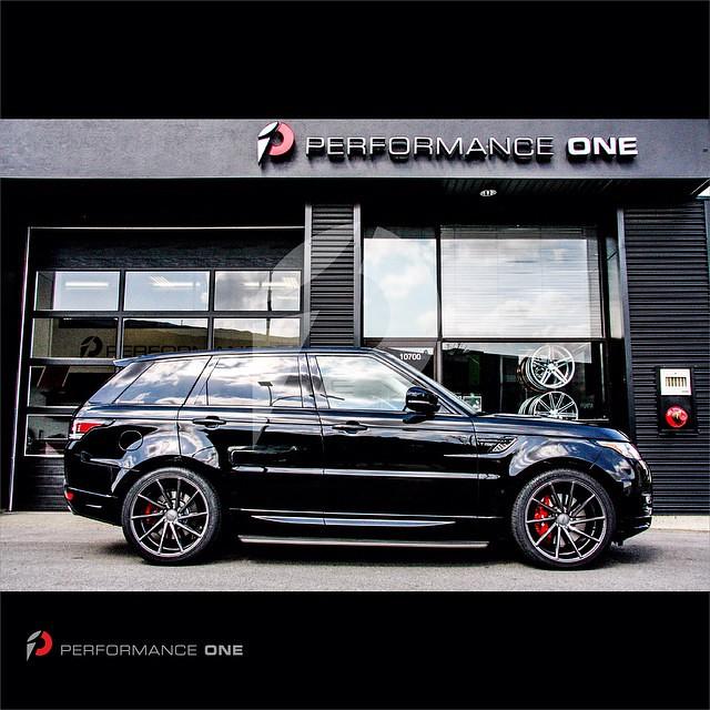 "Range Rover Sport equipped w/ VOSSEN CVT · 22"" Gloss Graphite   #vossen   #teamvossen   #CVT   #wheels   #concave   #supercharged   #landrover   #rangerover   #directional   #glossgraphite   #performance   #performanceone   #awg   #autowest   #autowestgro"