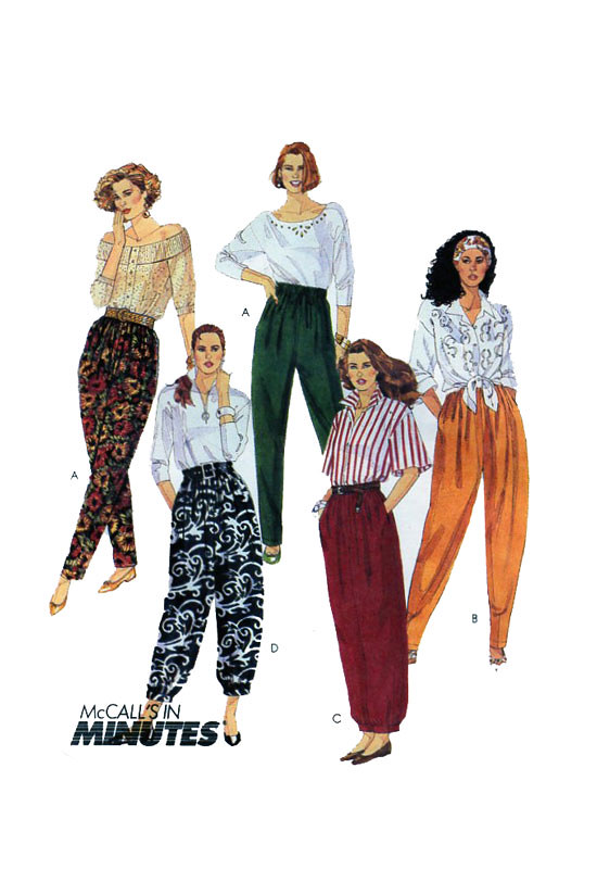 McCalls 5654 Harem Pants Sewing Pattern | Womens Harem, Para… | Flickr