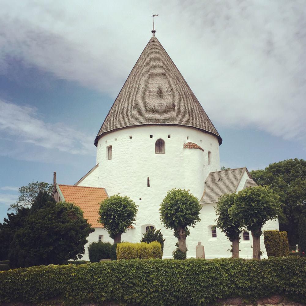 Die Olskirche in Olsker