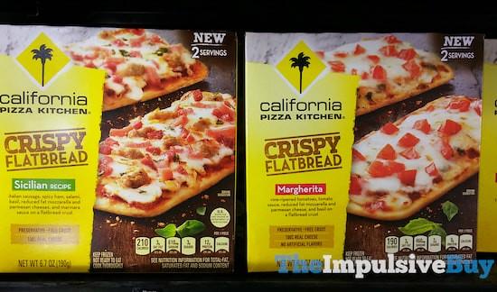 California Pizza Kitchen Crispy Flatbread (Sicilian and Ma… | Flickr