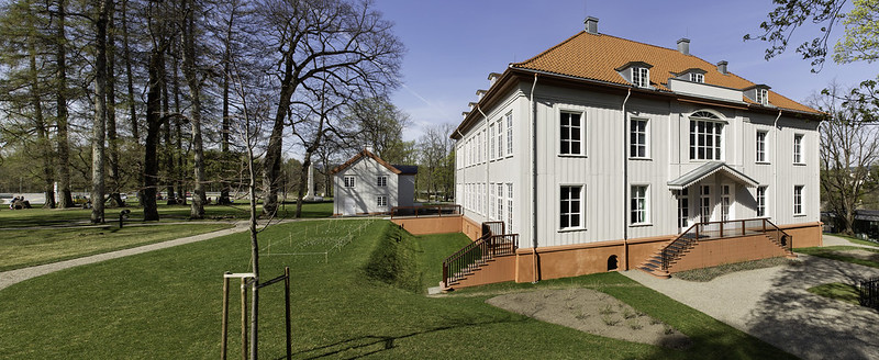 Manor House in Eidsvoll, NORWAY