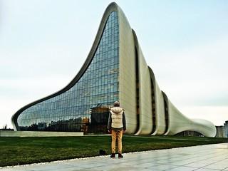 Back View. Baku,Azerbaijan Azerbaijan