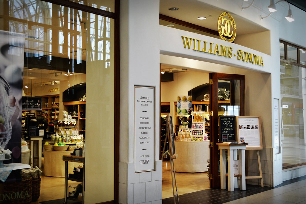 Williams Sonoma Store Canada This Is A Shot Of The William Flickr
