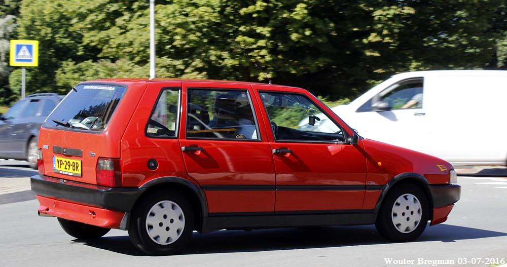 Fiat Uno 75 Sx I E 1990 Overveen Netherlands Flickr