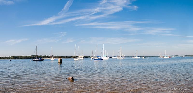 A beautiful, calm morning at Lake Pier
