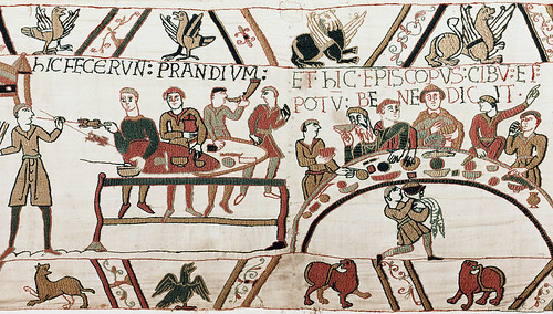 Bayeux Tapestry, First Meal | by profzucker