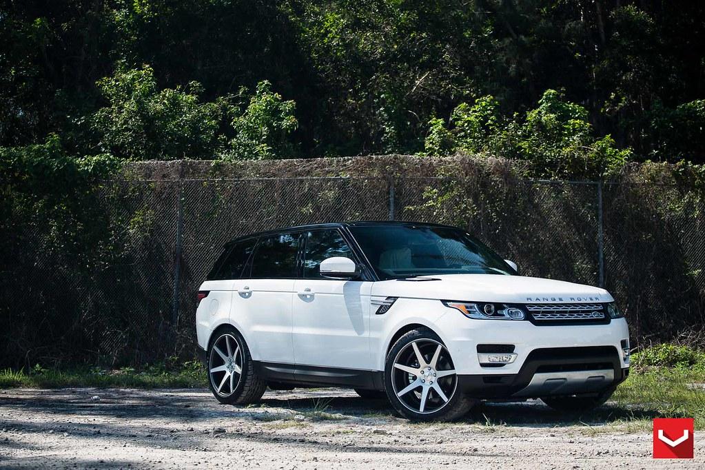 Warren Henry Range Rover >> Land Rover Range Rover Sport 22 Vossen Cv7 Matte Graphi Flickr