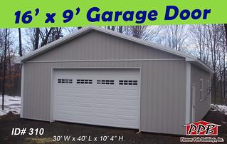 16 39 X 9 39 Garage Door Check Out This Wide Garage Door