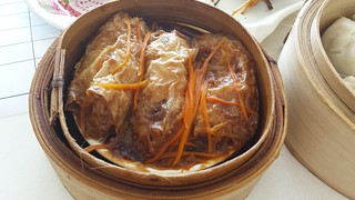 Beancurd Rolls in Mushrooms Sauce from Easy House Vegetarian