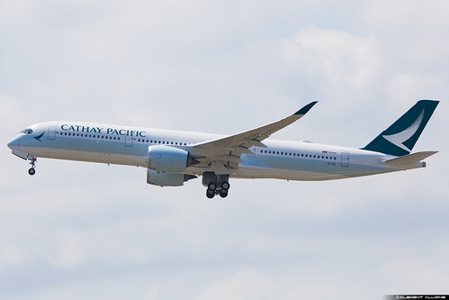 Cathay Pacific Airbus A350-941 cn 029  B-LRA | by Clément Alloing - CAphotography