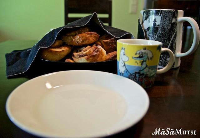 Ihanaiset, muumit, kahvihetki