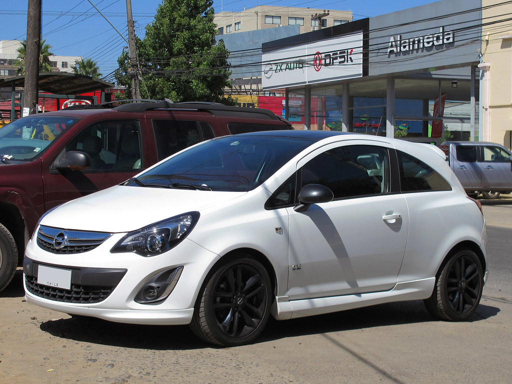 Opel Corsa 1 4t Color Opc Line 2014 Rl Gnzlz Flickr