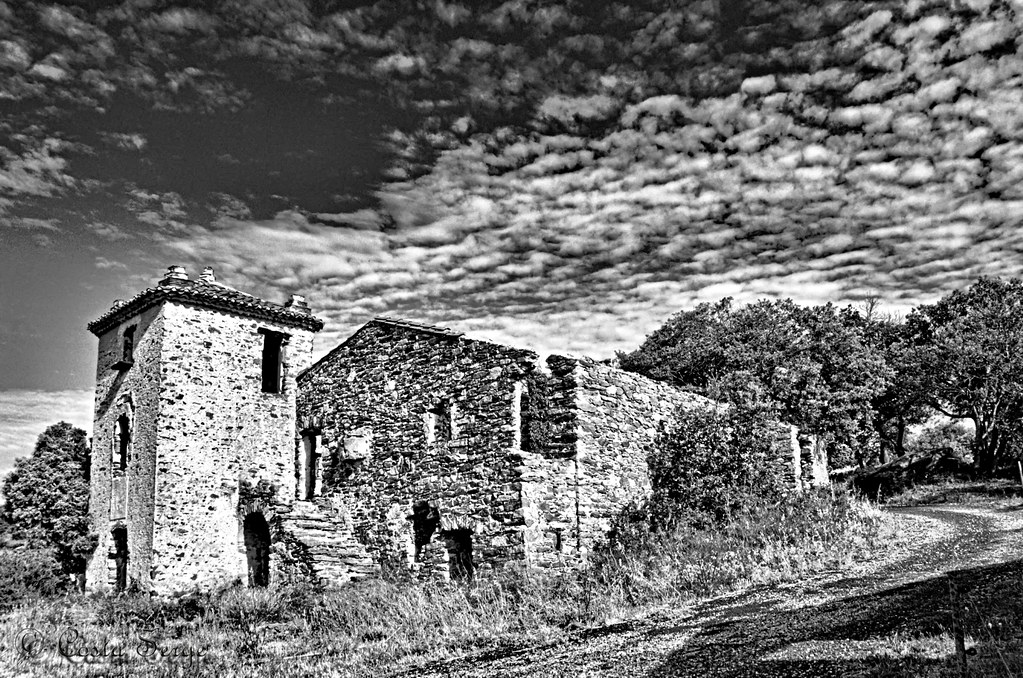 Vielle maison en ruine