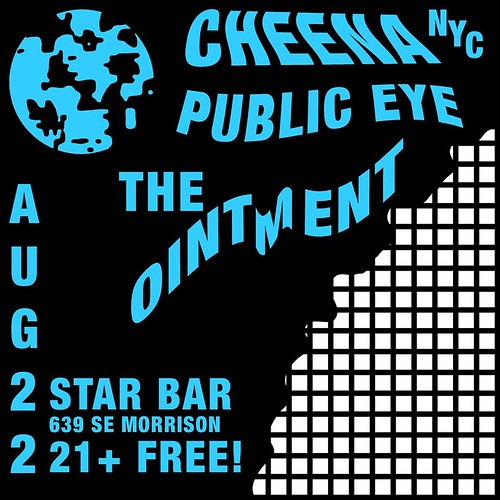 8/22/16 Cheena/PublicEye/TheOintment