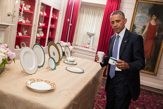 Barack Obama inspects new china 2015 | by Tim Evanson