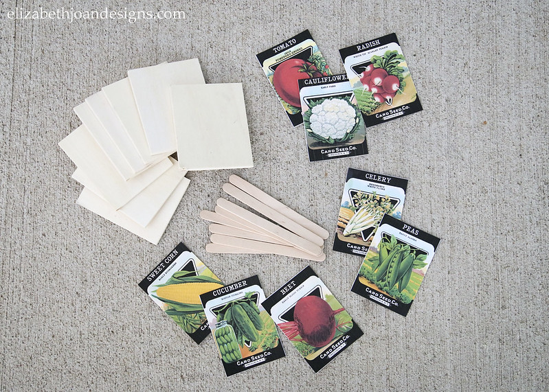 Vegetable Plant Marker Supplies
