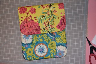 Idea Pouch in AMH Little Folk | by Sew Kiwi