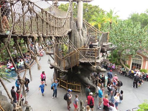 Tarzans Treehouse Adventureland Disneyland Anaheim Cal