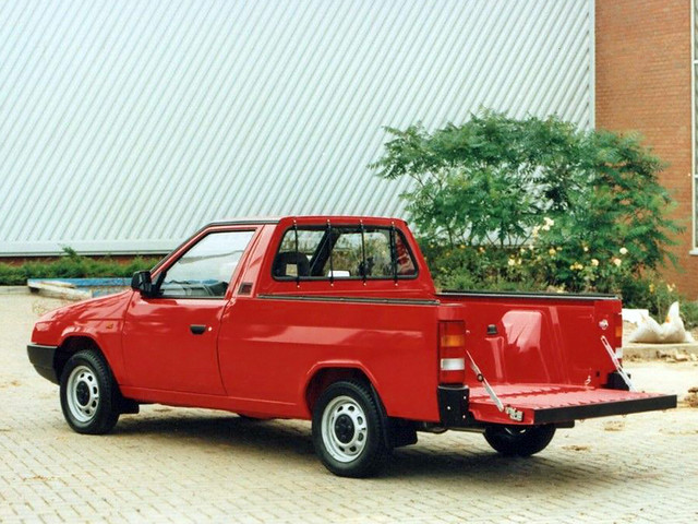 Пикап Skoda Favorit Foreman II Pick-up. 1991 – 1995 годы