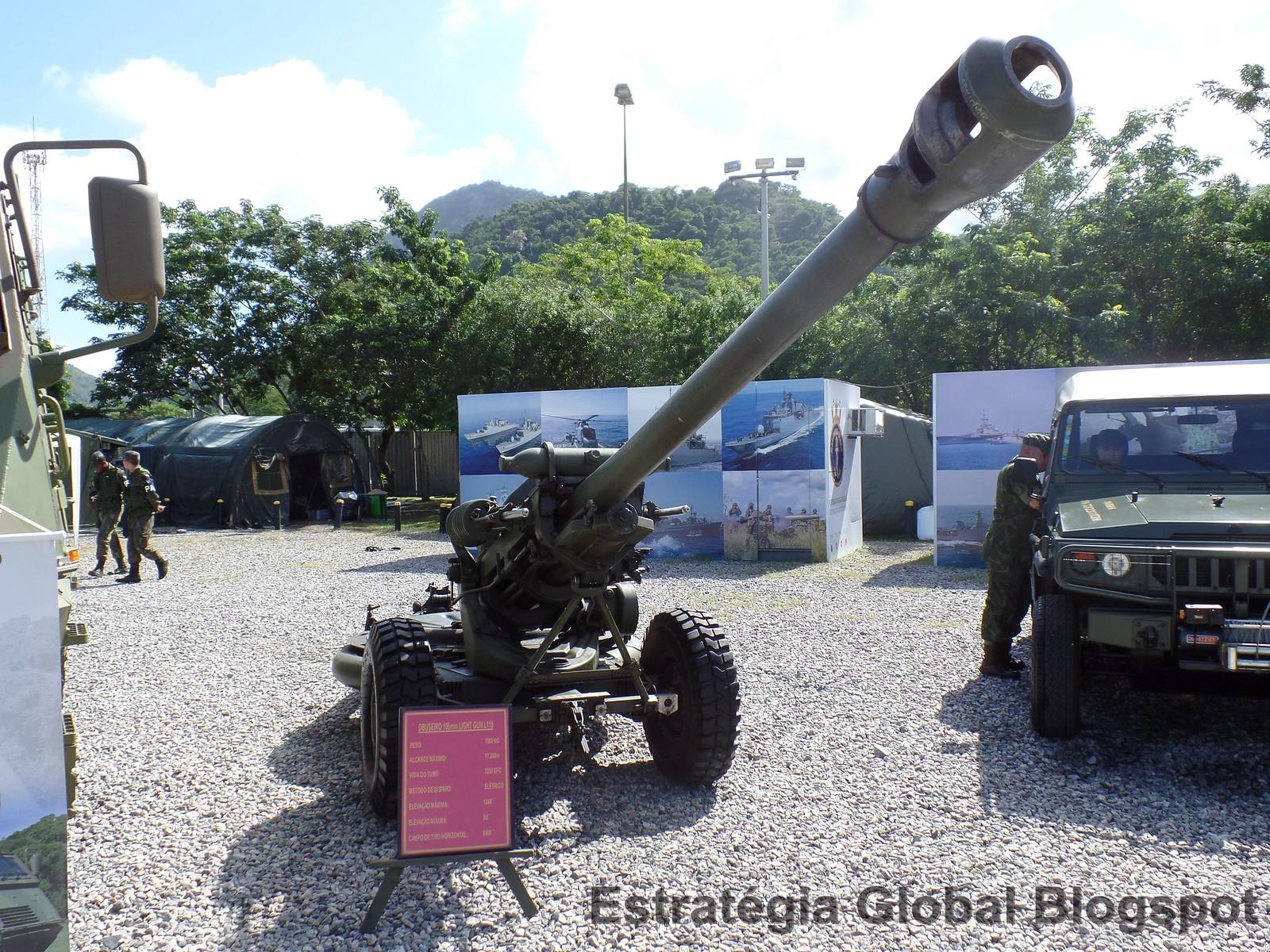 Obuseiro Light-Gun 105mm (Reino Unido)