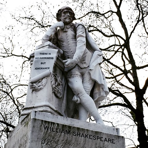 William Shakespeare in Leicester Square, London | by World of Good