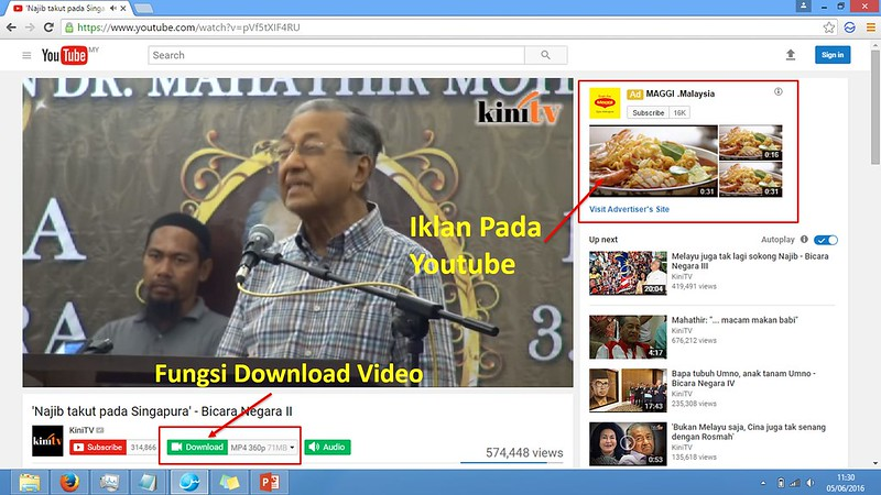 Salam Browser - Fungsi Download Video