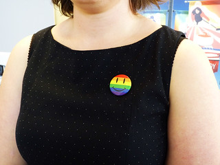 Pride Button | by The Flag Shop