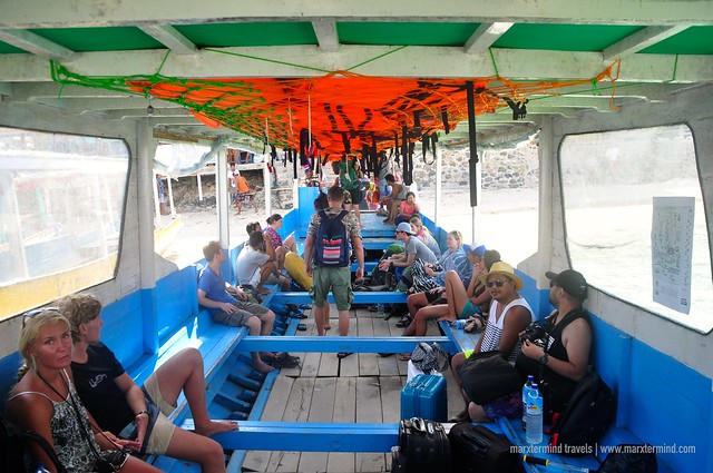 Public Boat from Gili Air to Gili Trawangan