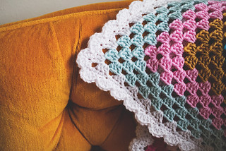 Granny Four Square corner | by Lisa | goodknits