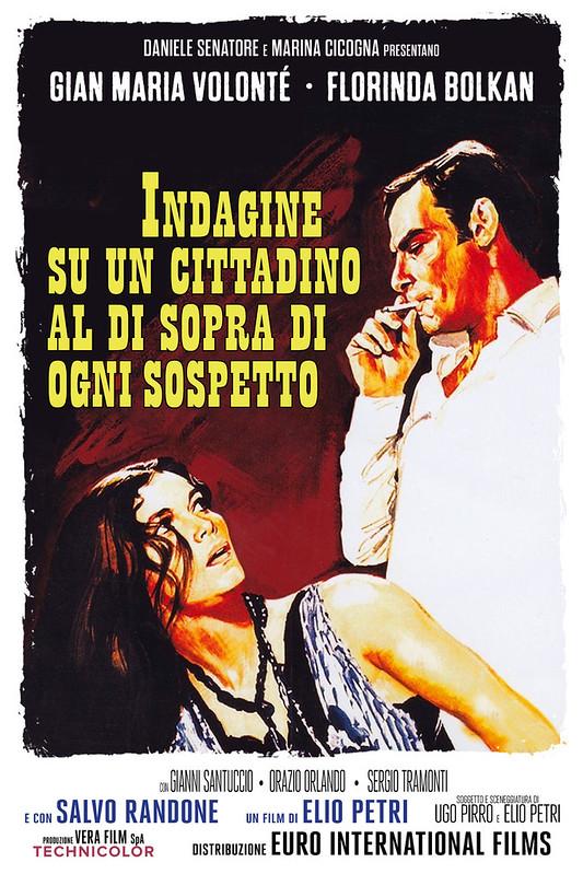 Indagine Su Un Cittadino Al Di Sopra Di Ogni Sospetto - Poster 1