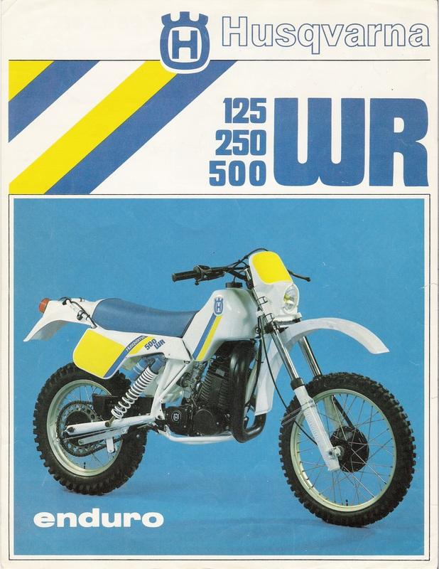 1984 husqvarna 125 250 500 wr sales brochure 1 tony blazier flickr rh flickr com WR 250 X WR 250 Parts