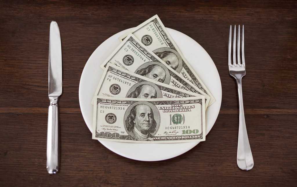 Image result for plate of money