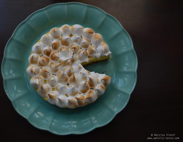 cheesecake lime meringue