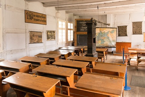 Classroom Of An Old German School In 1823 Thanks You For
