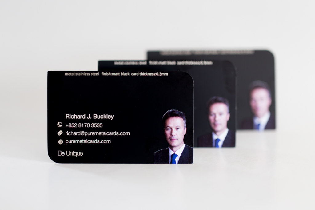 Pure metal cards black photo metal business card be creati flickr pure metal cards black photo metal business card by pure metal cards reheart Images