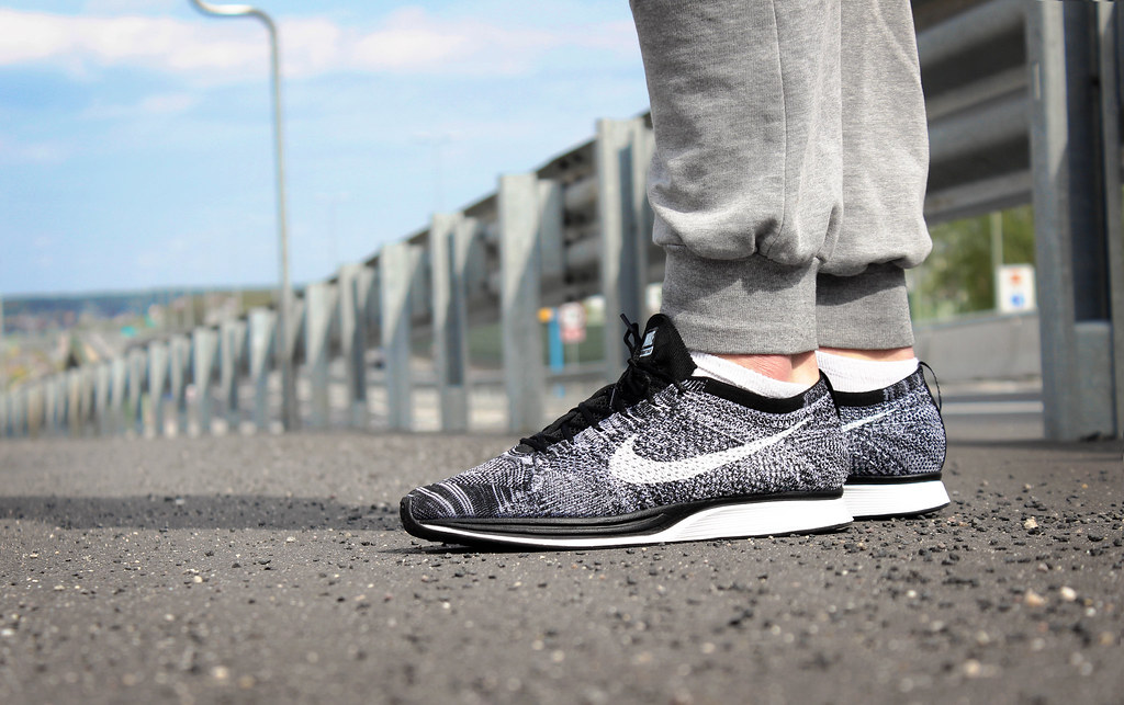 3e4676d36cdd ... spain nike flyknit racer black white oreo 2.0 by wookash 416fb 43277 ...