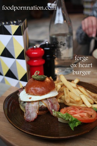 Forge ox heart burger - Forge & Co, Shoreditch -London Food Blog | by Priscilla @ Food Porn Nation
